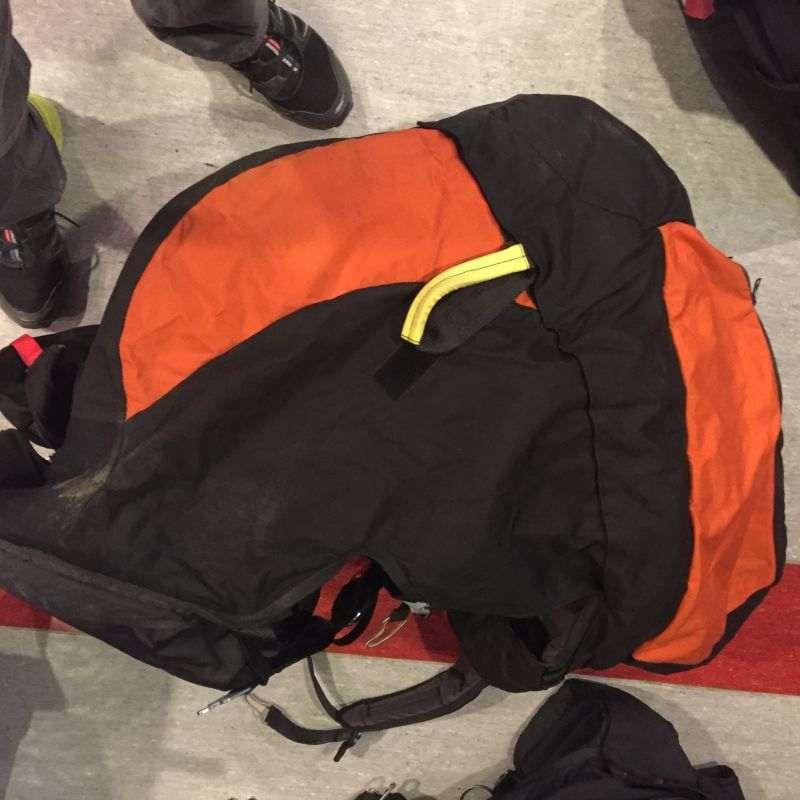 SupAir tandem beülő mentőernyővel