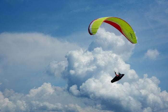 AirDesign Rise 3 LTF/EN B siklóernyő