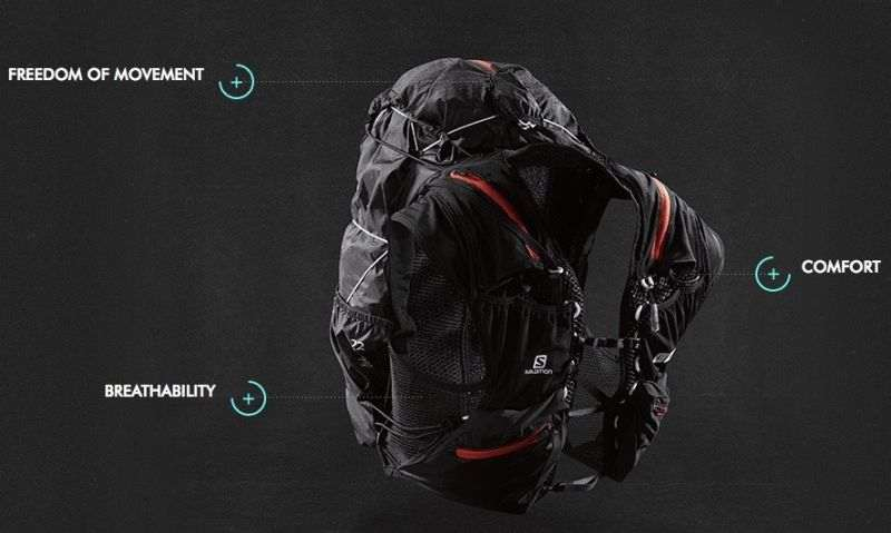 Salomon S-LAB PEAK 20 hátizsák, futómellény